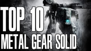 Top 10 Saddest Metal Gear Solid Moments [2012]