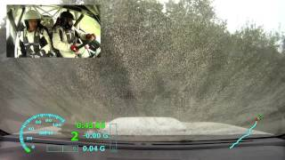 Ojibwe Rally 2015 SS10 - Gill/Harrell (Crash)