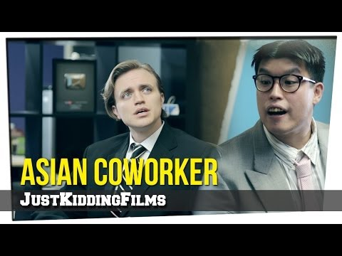 Movie vs Real Life: Asian Coworker klip izle