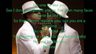 P-Square - No One Like You Lyrics