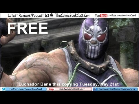 LUCHADOR BANE free for download on May 21st