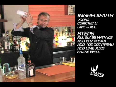 Kamikaze Cocktail Recipe - BartenderOne Toronto Bartending School