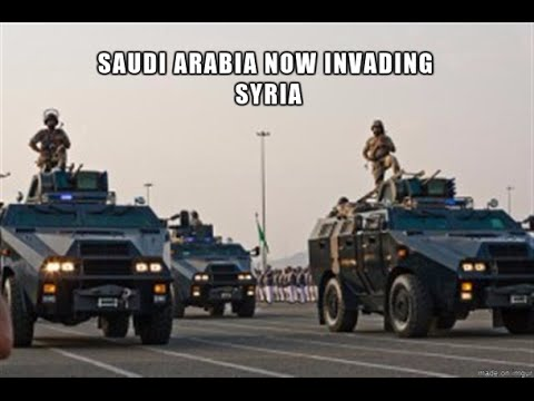 WW3: Now Saudi Arabia is INVADING Syria!!