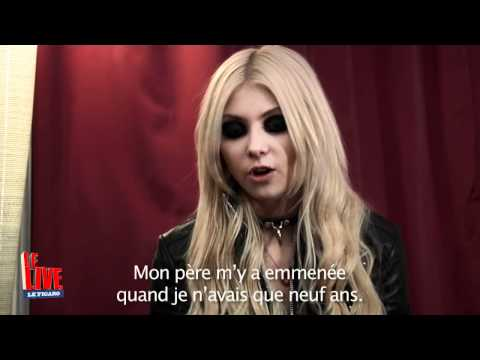 The Pretty Reckless ( Taylor Momsen ) - Le Live - Interview par Antoine Daccord