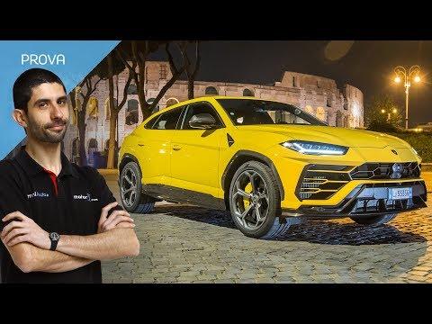 Lamborghini Urus hai capito come va il non-SUV-ultra