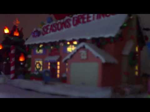 Si Lxii Simpsons Christmas Village 2009