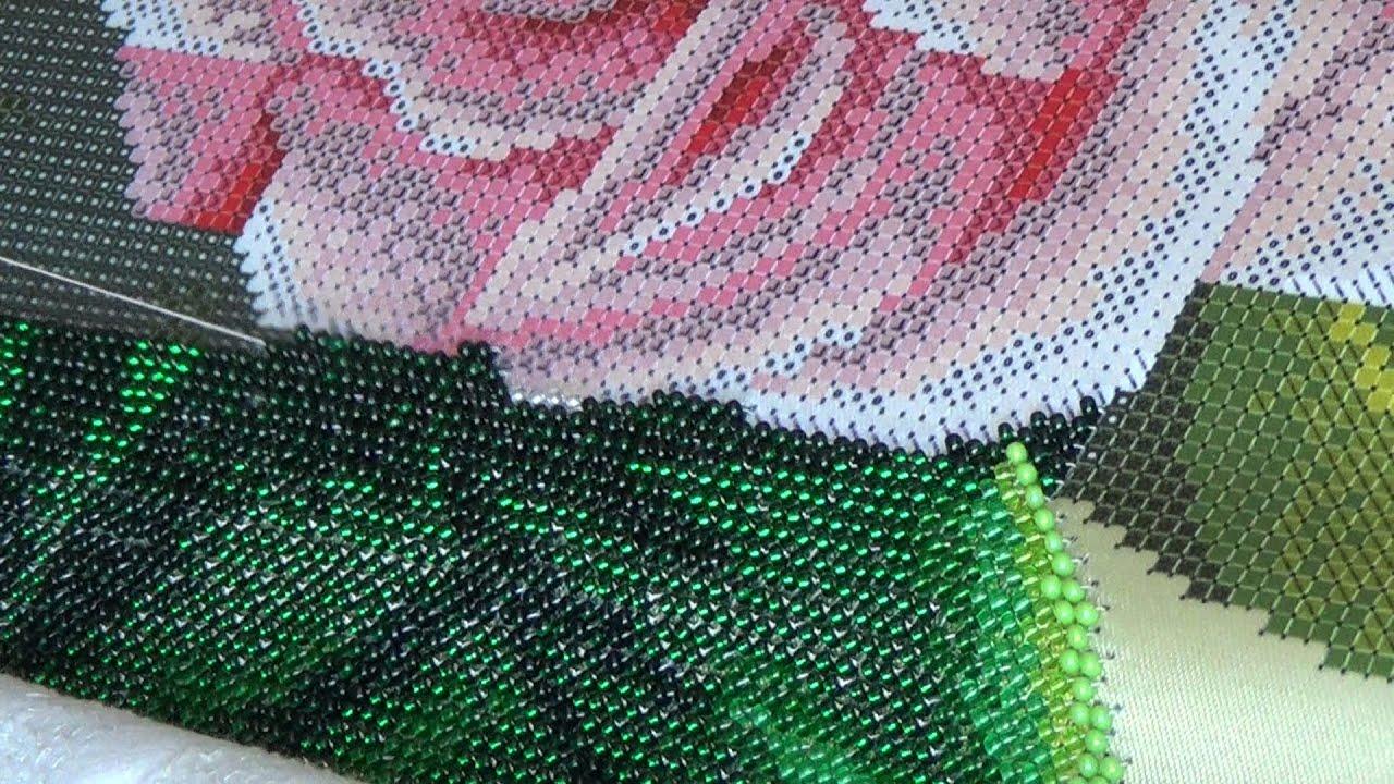 Набор вышивки бисером видео