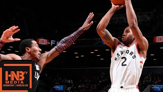 Toronto Raptors vs Brooklyn Nets Full Game Highlights | 12.07.2018, NBA Season