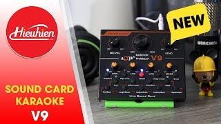 Trên tay Sound Card V9, hát karaoke, thu âm, live stream có auto tune