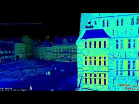3D map of the Bremen city center. It is generated with plane registration from 7 high-resolution scans with a RIEGL VZ-400. The scans have very few overlap a...