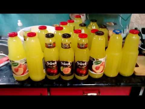Заготовки на зиму// Апельсиновый сок