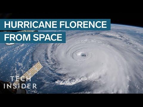 NASA Footage Shows The 'Nightmare' Hurricane Florence