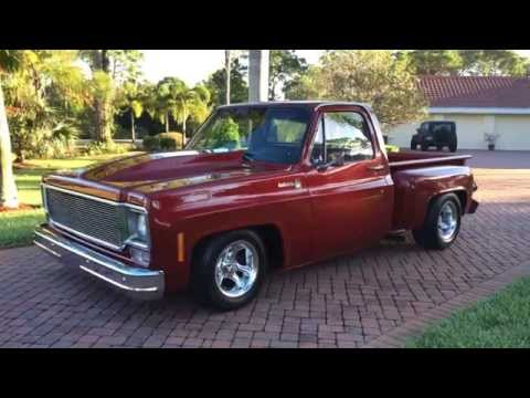 SOLD - 1976 Chevrolet C10 Stepside Pickup Truck for sale by Auto Haus of Naples AutoHausFL.com