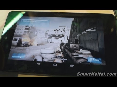 NVIDIA GRID Cloud Gaming on Android! Battlefield 3 & Street Fighter IV Demo [2013 CES]