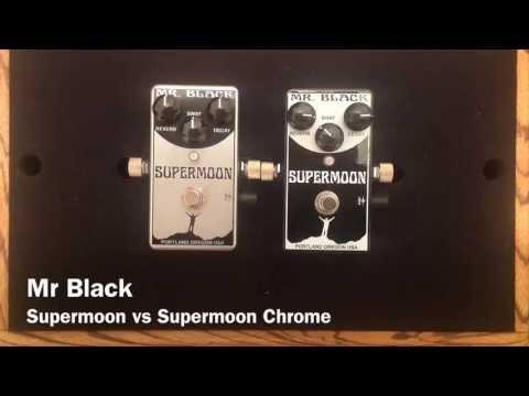 Mr Black Supermoon vs Supermoon Chrome