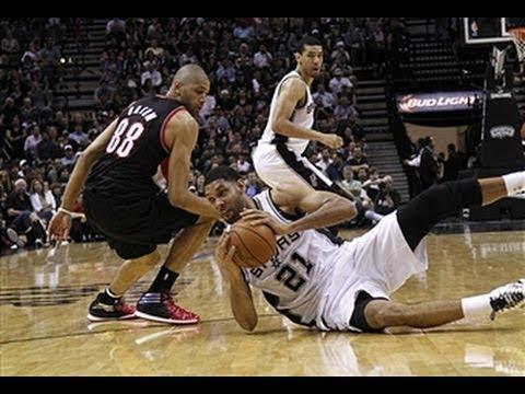 Trail Blazers vs. Spurs: Game 2 Highlights
