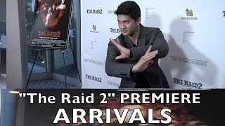"""The Raid 2"" Los Angeles Premiere Arrivals Iko Uwais, Cung Le, Randy Couture"