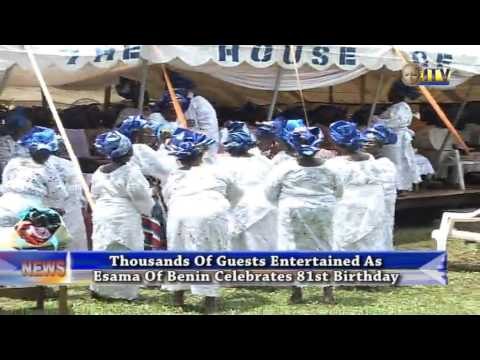 Thousands Of Guests Entertained As Esama Of Benin Celebrates 81st Birthday
