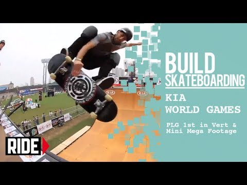 Kia World Games 2013 -- PLG 1st in Vert & Mini Mega Footage