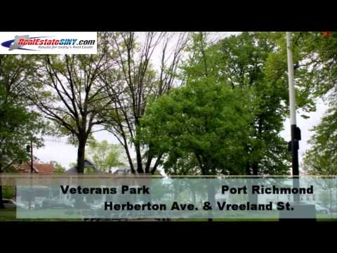 http://www.RealEstateSINY.com | Here is a look at some of Staten Island's parks which honor war heroes: Annadale Green, Barrett Triangle, Egbert Triangle, He...