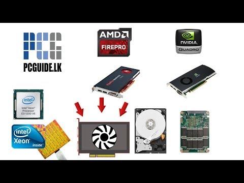 Q & A - Quadro graphics, intel xeon, intel optane memory සිංහලෙන්
