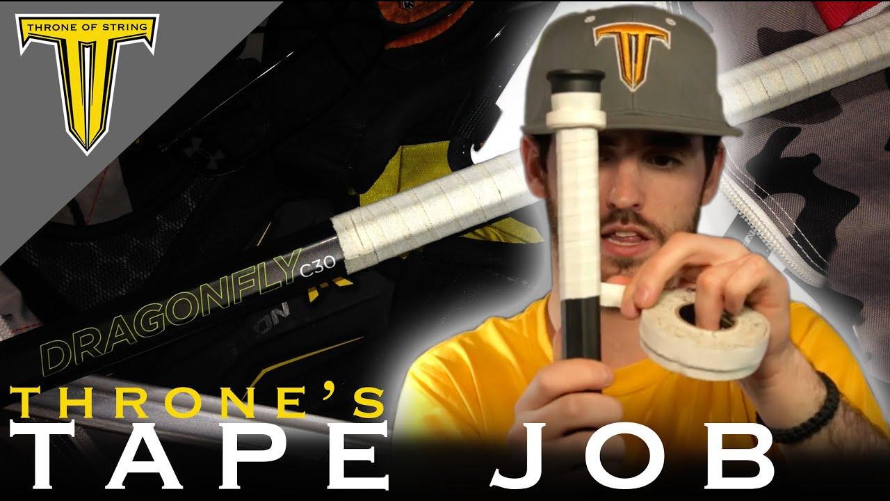 Tutorial : How to Tape a Lacrosse Shaft : Epoch Gen5 ...