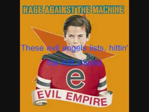 Vietnow- Rage Against the Machine (Lyrics)