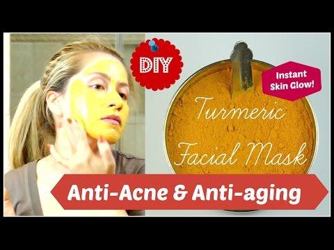 Anti-aging & anti-acne beauty secret - Turmeric Mask