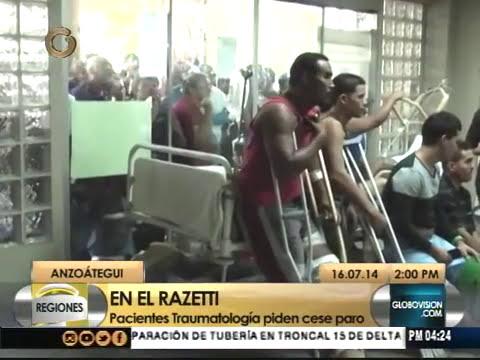 Pacientes de Hospital en Barcelona exigen reanudación de cirugías