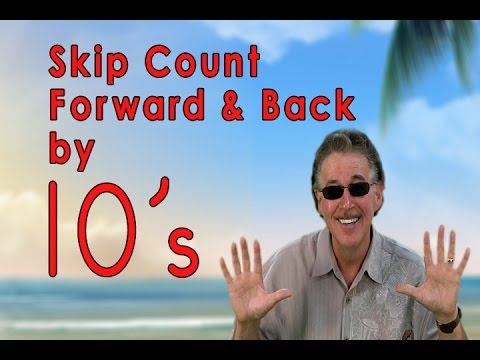 Skip Counting Forward And Back | Count To 100 | Counting Songs | Jack Hartmann video