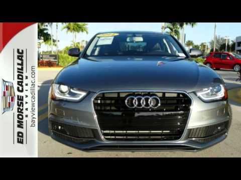 2014 Audi A4 Fort Lauderdale Miami, FL #F0100858A