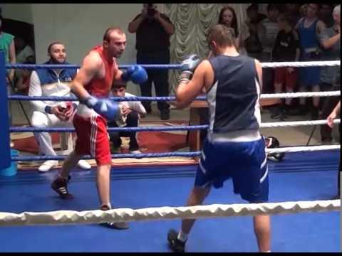 Бокс(любители). Мурат Плиев vs Залим Тхишев до 75 кг.