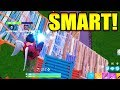 How To Play: SMART in FORTNITE BATTLE ROYALE!!!! -