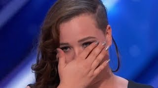 UNEXPECTED Performance After SIMON STOPPED Her! Emotional! | AGT Audition S12