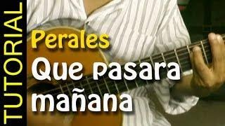 Que pasara mañana - Jose Luis Perales - Como tocar en Guitarra