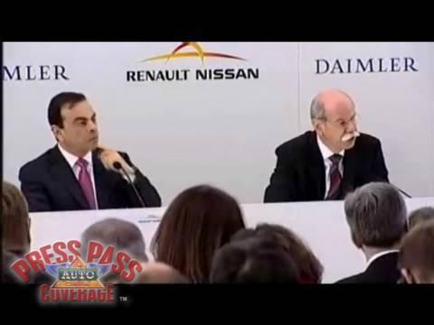 Renault-Nissan Daimler Alliance Press Conference - LIVE