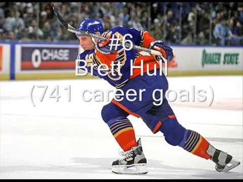 Top 10 Greatest NHL Goal Scorers