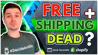 IS IT WORTH DOING FREE PLUS SHIPPING STILL? (Shopify ClickFunnels Dropshipping)