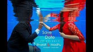 COP and the Queen  I Underwater Shoot I Save the date I STORY TAILOR