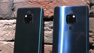 Huawei Mate 20 и Mate 20 PRO. Сводные братья по разуму.