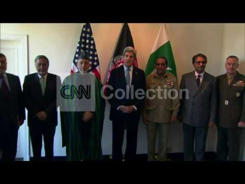 BRUSSELS:SECY KERRY AND KARZAI