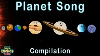Planets Song in our Solar System/Planets Compilation