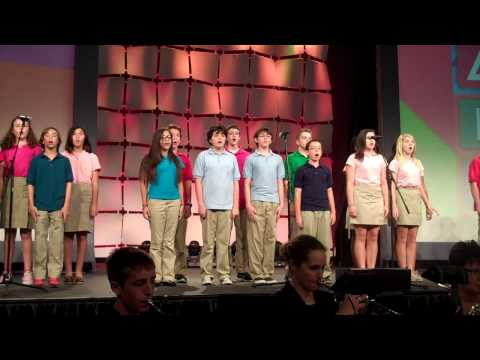 "Berkeley Preparatory School Middle Division NAIS Performance ""Where we Belong"" - 03/01/2014"
