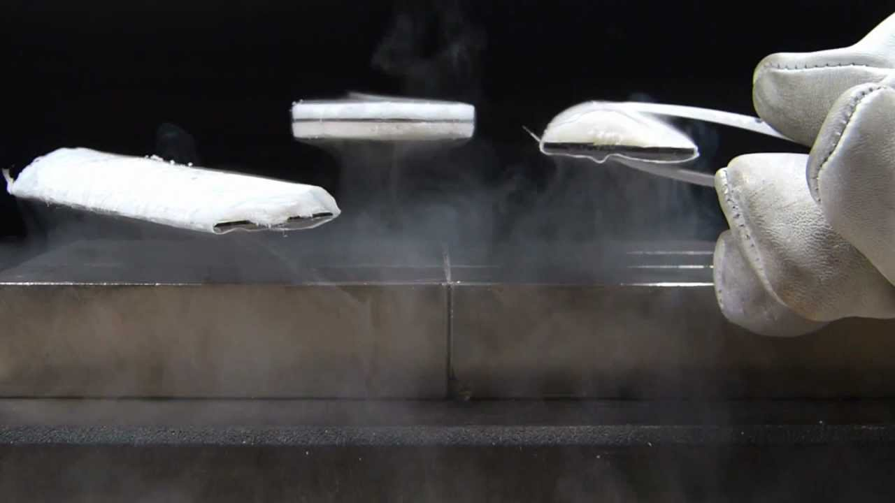 a report on quantum levitation Strongest quantum levitation effect on a hoverboard when levitation occurred straits times report world.