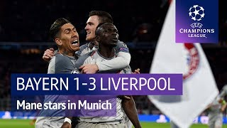 Bayern Munich vs Liverpool (1-3) | UEFA Champions League Highlights