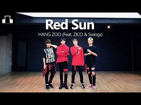 download lagu Hangzoo - Red Sun Feat.zico,swings  Dsomeb Choreography & gratis