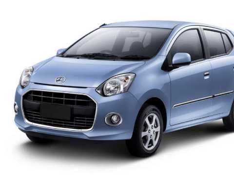DAIHATSU AYLA 2013 INDONESIA Exterior and Interior Slide Picture