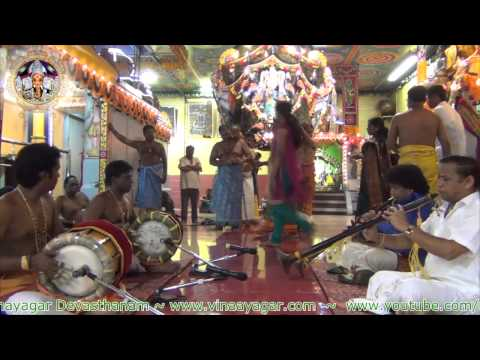 Day 2  Nadaswaram & Thavil - Sri Varasiththi Vinaayagar 2013 video