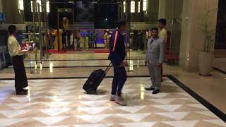 Team India Welcome to ITC FORTUNE HOTEL RAJKOT 1st October to 6th October 2018.
