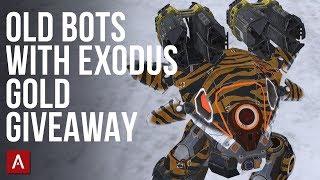 Exodus Builds For Old Robots + Gold Giveaway / War Robots VØX Clan Live Stream